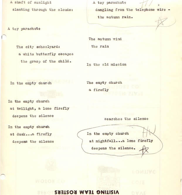 nick joaquin sample poems Browse through nick joaquin's poems and quotes 1 poems of nick joaquin still  i rise, the road not taken, if you forget me, dreams, annabel lee.